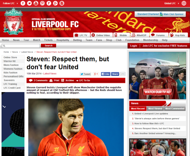 140316_Steven  Respect them  but don t fear United   Liverpool FC