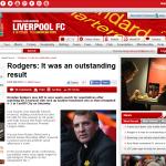 ロジャース「傑出した結果だった」