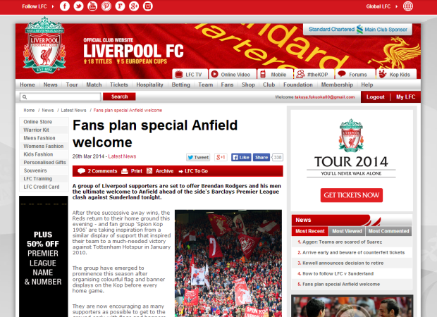 140326_Fans plan special Anfield welcome   Liverpool FC
