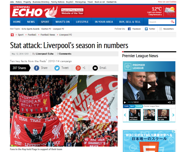 140513_Stat attack  A review of Liverpool FC's season in numbers   Liverpool Echo