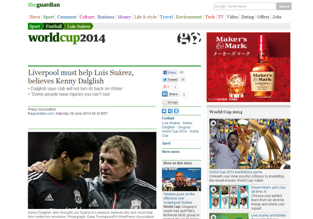 140628_Liverpool must help Luis Suárez  believes Kenny Dalglish   Football   theguardian.com
