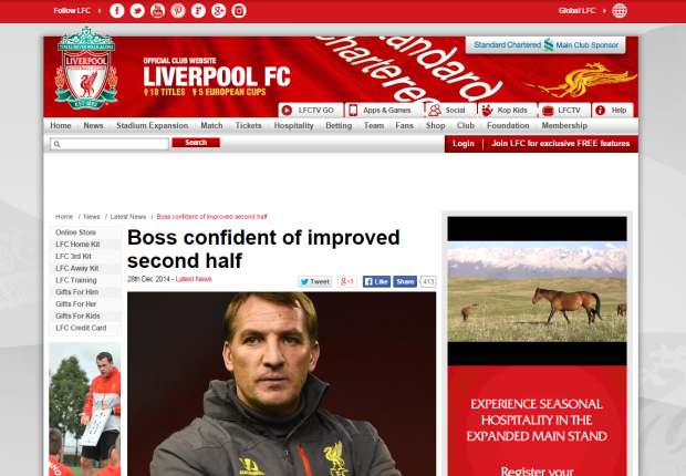 141229_Boss confident of improved second half   Liverpool FC
