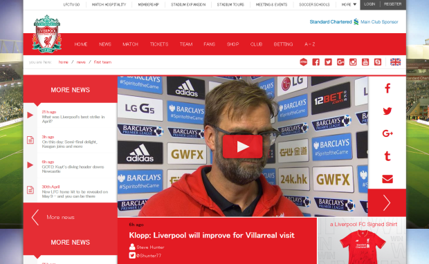 160503_Klopp  Liverpool will improve for Villarreal visit   Liverpool FC